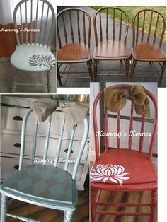 Kammy's Korner: 1 Chair, 3 ways
