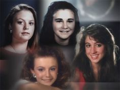 The Yogurt Shop Murders.  Clockwise from top Amy Ayers, Eliza Thomas, Jennifer Harbison and her sister, Sarah Harbison