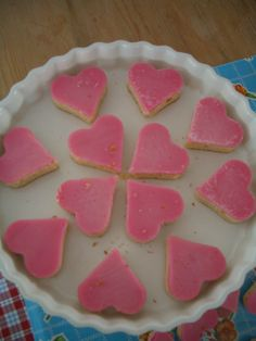 Leuk idee voor roze koeken
