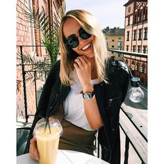 enjoying the day with kapten watch & sunglasses @kristinsundberg | kapten-son.com