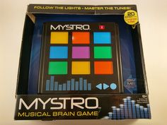 New Mystro Master The Tune Musical Brain Game Electronic Memory Game 20 Songs  #TheBridgeDirect