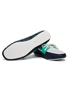 Swims Navy/Teal Sports Loafers | Accent Clothing