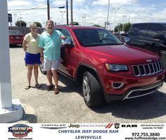 https://flic.kr/p/wrfoSa | #HappyAnniversary to David and Sheryl Layne on your 2014 #Jeep #Grand Cherokee from David Jones at Huffines Chrysler Jeep Dodge Ram Lewisville! | www.huffinesdodge.com/?utm_source=Flickr&utm_medium=D...