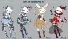 Auction Adopt: ALICE IN WONDERLAND CLOSED by Lunadopt.deviantart.com on @DeviantArt
