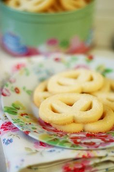 Expanding on Pierre Hermes' Sable Vennois Recipe - Sugared Danish Butter Cookies