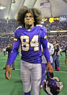 RANDY MOSS - minnesota vikings - natural talent to be the best of all time. Yes that means you jerry rice. unfortunately always played the rebel. Which I also like.  This is my cousin...oh dear!!!