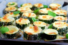 Tasty food for busy mums: Meatless Monday: Stuffed Zucchini Bites with Mozzarella & Gouda Cheese