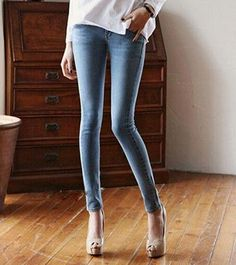 2017 New Fashion Sexy Slim Fit Jeans Women Pencil Pants Spring and summer Skinny Trousers For Lady Jeans Femme Plus Size