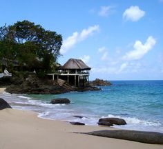 Sunset Beach Hotel #mahe #seychelles