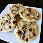 Thick & Chew Chocolate Chip Cookies