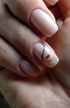 <img> 40 Wonderful Nail Art Ideas All Girls Should Try Page 2 Style O Check - Cute Acrylic Nail Designs, Cute Acrylic Nails, Nail Art Designs, Stylish Nails, Trendy Nails, Hair And Nails, My Nails, Nail Drawing, Nail Art Videos