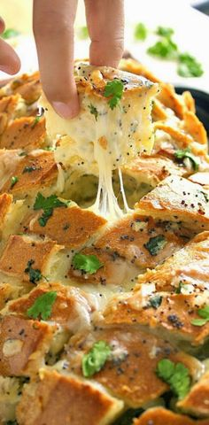 Stuffed Italian Bread | This really looks finger-licking amazing! And Im sure waiting for it to cool was absolute torture!