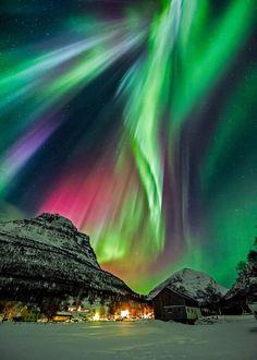 Cross Connect Magazine — Beautiful Aurora Borealis in the Night Sky ...