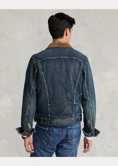 Denim Trucker Jacket Casual Winter, Winter Style, Corduroy, Flannel, Vest, Ralph Lauren, Inspired, Denim, Jackets