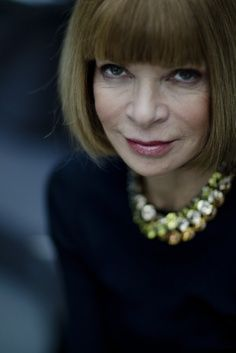 Anna Wintour Iconic style in my opinion !