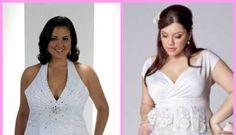 "Vestido de Casamento para Noivas ""Plus Size"""