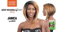 MODEL MODEL DEEP INVISIBLE L-PART WIG (JANICA) Natural Looks, Wide Angle, Look Fashion, Your Hair, Wigs, Deep, Hair Styles, Model, Color