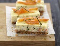Recette - Cheesecake au saumon fumé et fromage Carré Frais | 750g