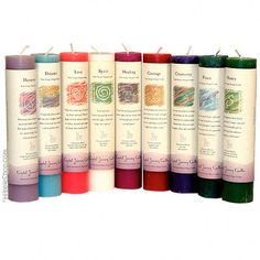 Reiki Charged Pillar Candle on Sale for $8.95 at The Hippie Shop