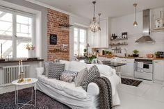 Un apartamento de estilo nórdico clásico!