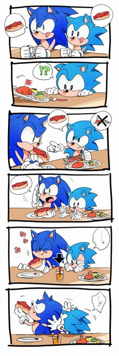 That's mean M Sonic! I'll get you something C Sonic.