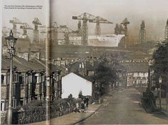 Ark Royal at Cammell Laird's, 1950.