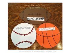 All-Star Dad: Father's Day craft and writing