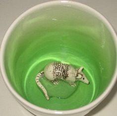Armadillo Surprise Mug