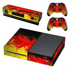 German Flag Xbox one skinfor Xbox one console and 2 controllers. Choose your favorite design from a huge range of Xbox one skins collection for Xbox one Console. Xbox One Skin, Console Styling, Ps4 Skins, New Video Games, Xbox One Console, Flag Design, Oils For Skin, Video Game Console, Designs To Draw
