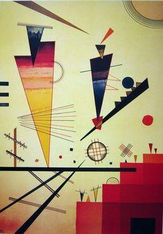 Merry Structure by Wassily Kandinsky | Lone Quixote | #painting #arte #kunst #WassilyKandinsky #kandinsky #art #AbstractArt #abstract