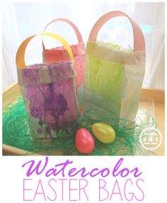 Easy Kids Easter Bags - Teaching 2 and 3 Year Olds