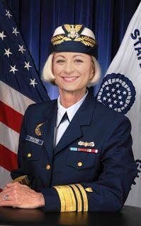 Vice Admiral Sally Brice-O'Hara, Vice Commandant of the Coast Guard. Coast Guard, Story Of My Life, Sally, Captain Hat, Sci Fi, Photos, Image, Career, Reading