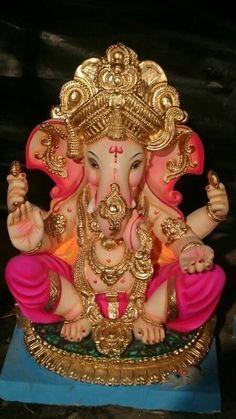 Jai Ganesh, Ganesh Lord, Ganesh Idol, Shree Ganesh, Ganesha Art, Lord Shiva, Shiva Art, Ganesha Tattoo Lotus, Lotus Tattoo