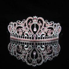 Modellierbare Perles Couronne Diadème Reine princesse couronne Contes Accessoires Tiara