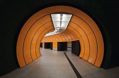 Scenes from Munich's subway system as catalogued by photographer Nick Frank.