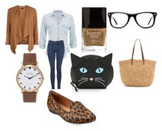 """""""Casual sunday outfit...(might be too warm to wear sweater but could wear for fall 2015)"""" by shycoygirl65 on Polyvore"""