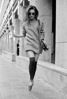 another way to wear a lovely jumper and it must make you want to dance. #WinInTheWoolWeekCompetition