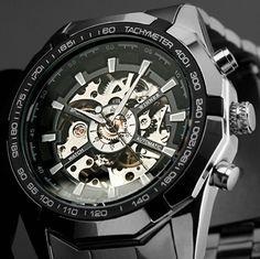 WINNER Luxusní pánské skeleton automatické sportovní hodinky WINNER  automaty Na tento produkt se vztahuje nejen zajímavá 8248205e25
