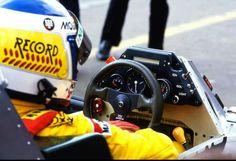 1984 Williams FW 09 Keke Rosberg on board