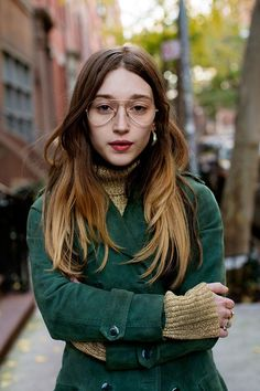 On the Street...West 9th St., New York Faces by the Sartorialist