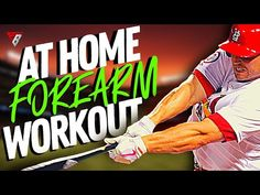 At Home Forearm Workout For Baseball Players   Baseball Training   How To Train Forearms - YouTube Baseball Players, Baseball Cards, Forearm Workout, Slow Pitch Softball, Baseball Training, At Home Workouts, Comic Books, Sports, Youtube