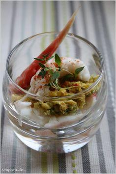 Verrine de king crabe, avocats et mayonnaise au balsamique | Soupçon de Balsamique Journal culinaire - Bruxelles