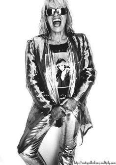 Anita Pallenberg for Italian Glamour