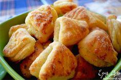 Творожное печенье «Гусиные лапки». Хрустящее и тающее во рту печенье из творожного теста. Понравится как взрослым, так и детям! #edimdoma #recipe #cookery