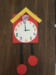 34 Jogos e Atividades para ensinar as horas - Aluno On Kids Crafts, Toddler Crafts, Preschool Crafts, Early Learning Activities, Math Activities For Kids, Clock Craft, Diy Clock, Daycare Jobs, Letter D Crafts