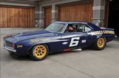 1969 Penske Trans-Am Camaro. Miss you, Mark.