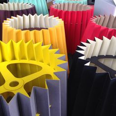 A selection of Twin Tone Lampshades