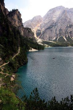 Braies Lake, Trentino-Alto Adige, Italy