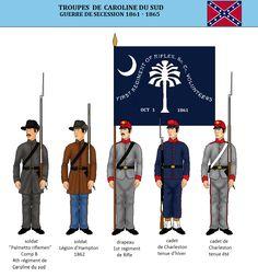 La Caroline du Sud dans la guerre de Sécession