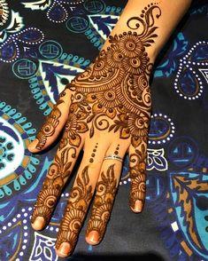 Likes, 9 Comments - Henna Artist Henna Tattoo Designs Simple, Henna Art Designs, Mehndi Designs For Girls, Mehndi Designs 2018, Mehndi Designs For Beginners, Modern Mehndi Designs, Mehndi Designs For Fingers, Wedding Mehndi Designs, Beautiful Henna Designs